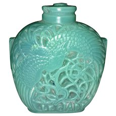 R Rene Lalique France Le Jade Flacon Perfume Scent Bottle Designed Chinese Snuff Bottle Style