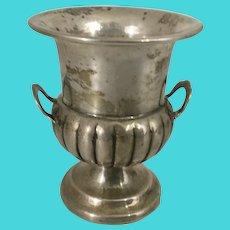 Vintage Whiting Sterling Silver Cigarette Toothpick Holder Mini Urn Bud Vase