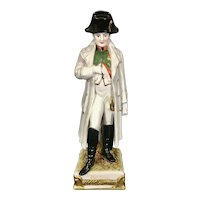 Antique Napoleon Bonaparte Dresden Scheibe Alsbach Kister Germany Porcelain Figurine