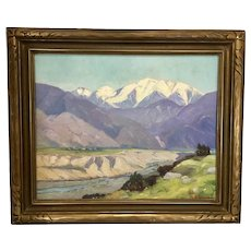 Margaret N Hodgson California Plein Air Painting Framed Landscape Mountains
