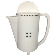 Swid Powell Tuxedo 8 CUP Coffee Tea Pot Teapot By Designer Gwathmey Siegel Tuxedo