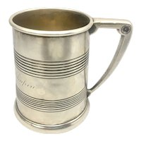 Antique Gorham Sterling Silver Cup Engraved Robert Selden Chapin September 1908