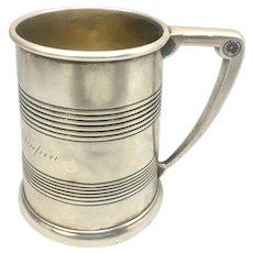 Antique Gorham Sterling Silver Cup Engraved Robert Selden Chapin September 1908