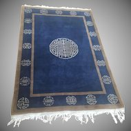 1937 Oriental Chinese Rug Carpet 6x4