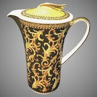 Versace For Versace Porcelain Mini Coffee Tea Pot Pitcher W Box