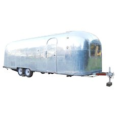 1966 Vintage Airstream Ambassador Land Yaht Silver Bullet Travel Trailer