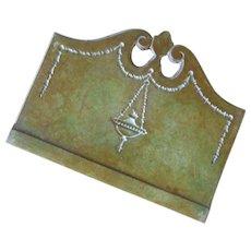 Antique 1880s-1900 Bradley and Hubbard Metal Arts Bronze Desk Letter Holder
