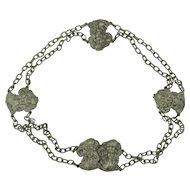 Art Nouveau Silver Plate Belt
