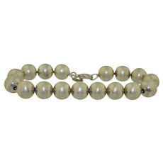 Tiffany & Co. Sterling Silver Classic Ball Bracelet