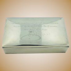US Polo Assoc Sterling Silver Presentation Box