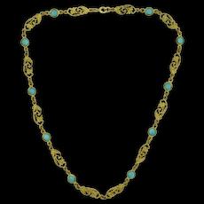 Art Nouveau Fancy Link Chain