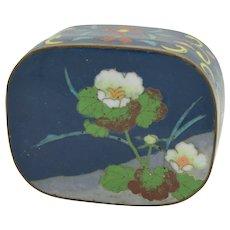 Republic of China Cloisonné Enamel Trinket Box