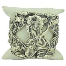 Unger Brothers Art Nouveau Sterling Silver Bracelet
