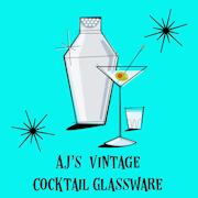 AJ's Vintage Cocktail Glassware