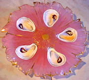 Antique Oyster Plates & Treasures