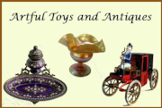 Artful Toys and Antiques