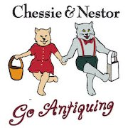 Chessie & Nestor Go Antiquing
