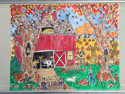 Fall, Pumpkins, and Thanksgiving by Denny Plesea