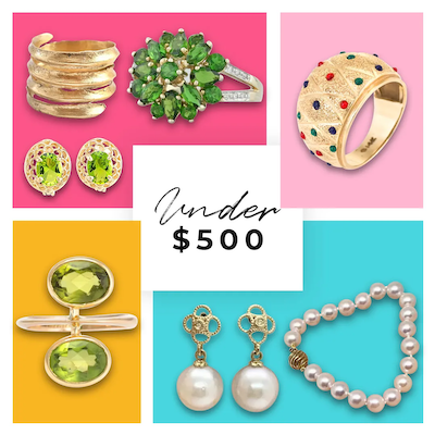 UNDER $500 : Wonderful Jewelry