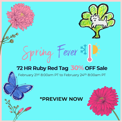 30% OFF RUBY RED TAG SALE