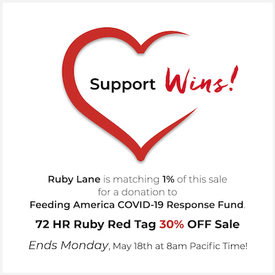 30% OFF Ruby Red Tag Sale is ON!