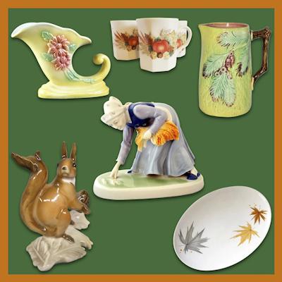 Autumn Porcelain
