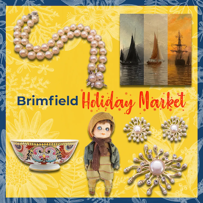 First Ever Brimfield Holiday Market