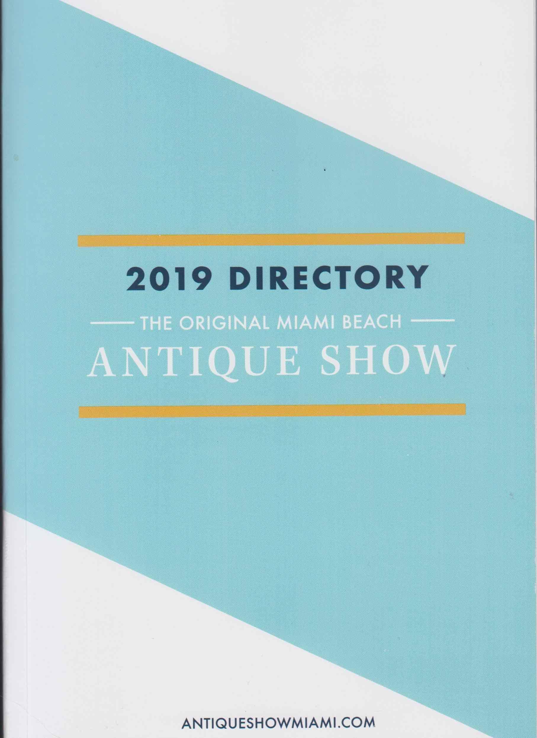 January 26, 2019, Ruby Lane Sponsors, The 2019 Original Miami Beach Antique Show image 1