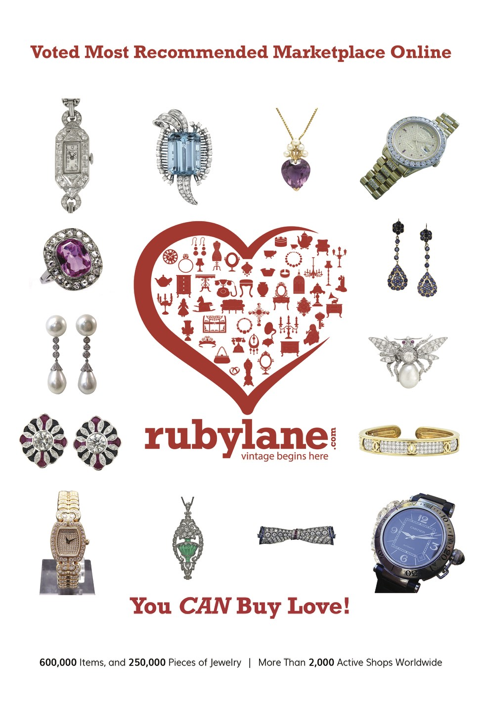 May 2019 Ruby Lane Sponsors the 2019 Las Vegas Antique Jewelry and Watch Show image 2