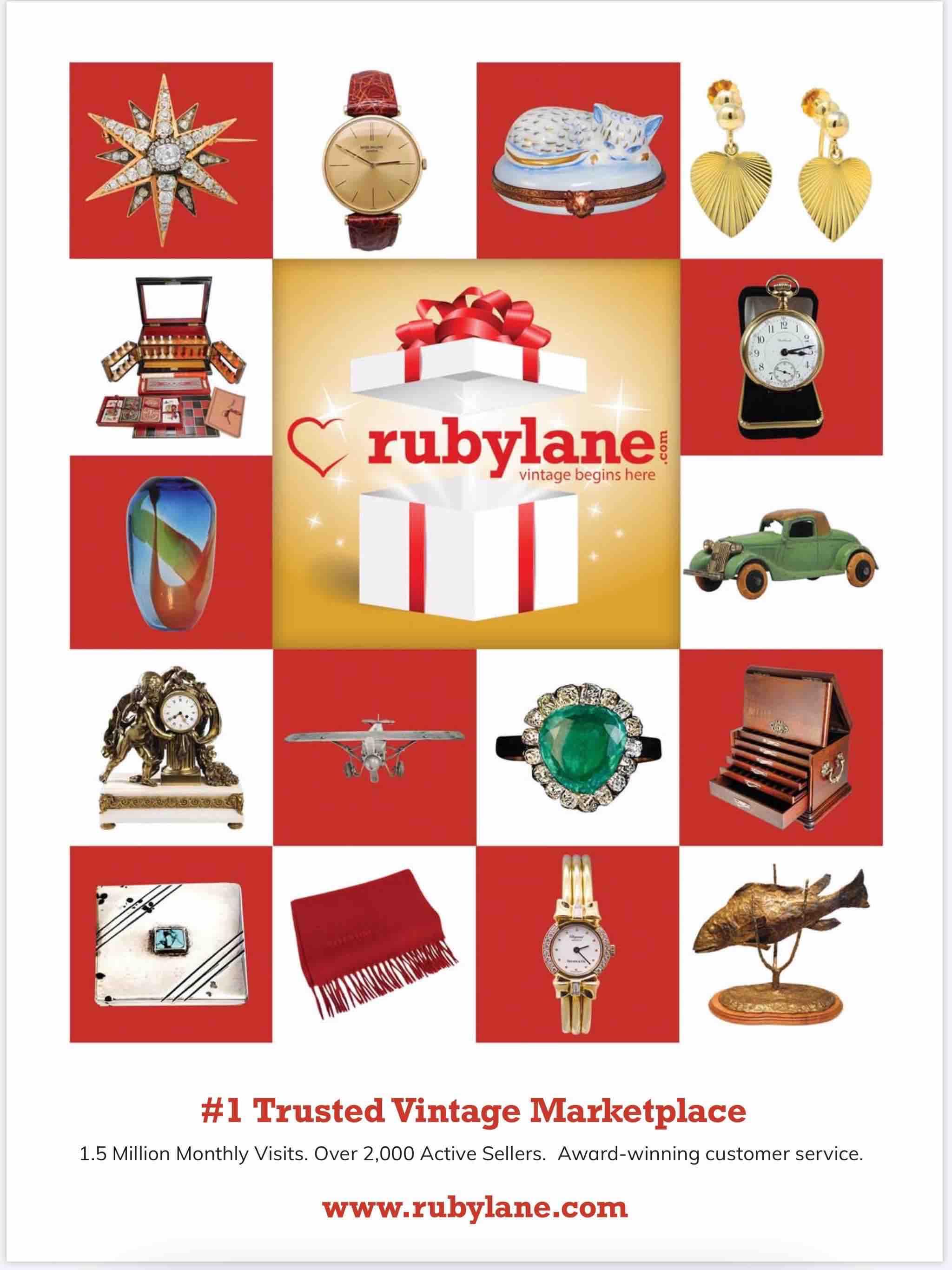 December 18, 2019, Antique Trader Magazine, Trending at RubyLane.com image 3