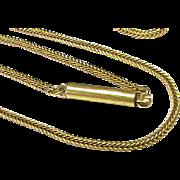 "Antique Victorian 15k 15ct Gold Chain 15 3/4 """