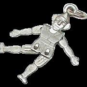 Vintage Art Deco Sterling Silver moving man Charm