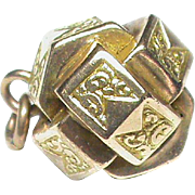 Antique Victorian 9k 9ct Gold Charm Fob