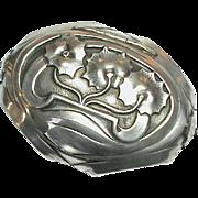 Antique Art Nouveau Silver Box