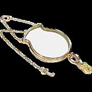 Antique Georgian Large 18k Gold Padlock Key Locket Pendant