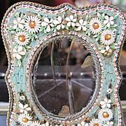 Vintage Miniature Micro mosaic tile picture frame