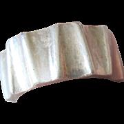 Antonio Pineda Taxco Modernist Sterling Silver ring