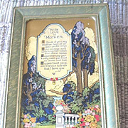 Artstyle Chocolate Co. Mother's Day specialty lithograph tin St. Louis Boston