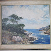 Famous Carmel California oil painting of Pfeiffer Beach