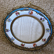 French porcelain and ormolu trimmed picture frame - Red Tag Sale Item