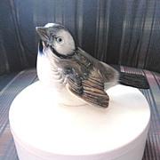 Cute porcelain BIRD candy box by Goebel of W. Germany
