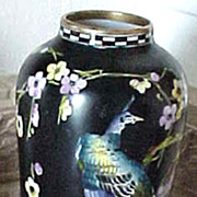 English Forester Phoenix Ware Asia vase