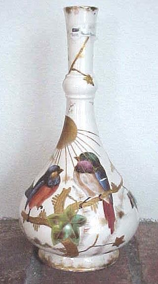 royal bonn hand decorated bird vase from. Black Bedroom Furniture Sets. Home Design Ideas