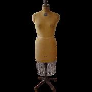 Vintage Mannequin Dress Form With metal cage  shirt