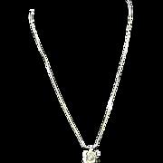 14 Karat Gold Peal Necklace