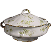 Theodore Haviland Limoges France Soup Tureen Schleiger 150B