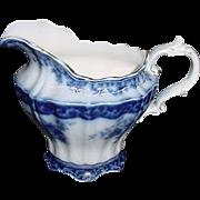 Antique Flow Blue Pitcher - Red Tag Sale Item