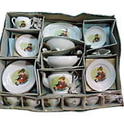 Child's Vintage  Porcelain Tea Set