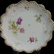 Depose France  6 Limoges  Floral Dinner  Plates
