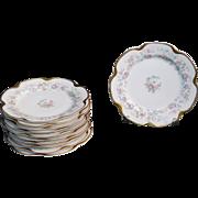 Haviland Limoges France 11 Salad Plates